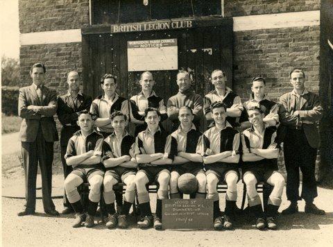 Wood Street British Legion FC 1947/48