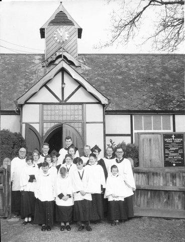 Wood Street Village St Albans 'old' Church 1962
