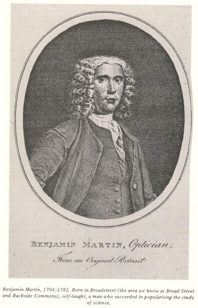 Benjamin Martin 1704 - 1782
