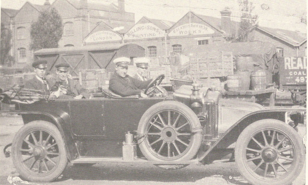 Crouch's Taxi Harold Bunny Johnson