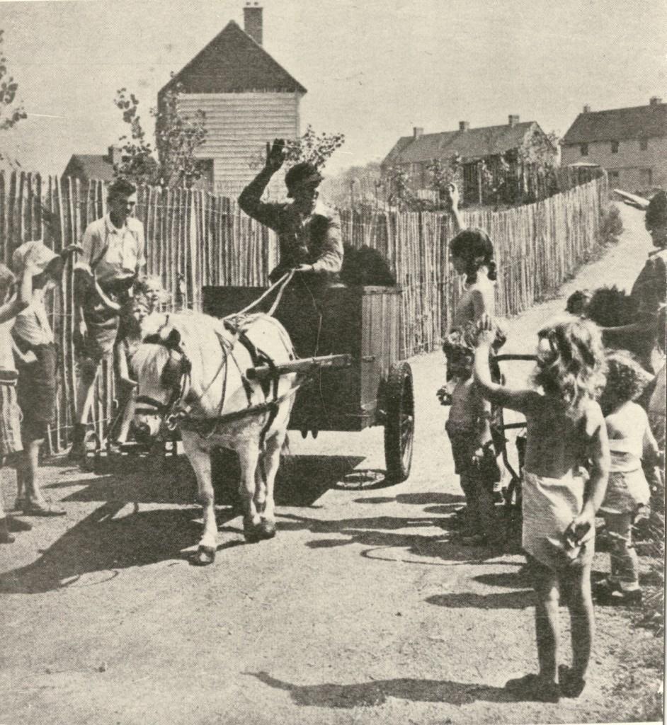 Olive Walker Chimney Sweep 1950