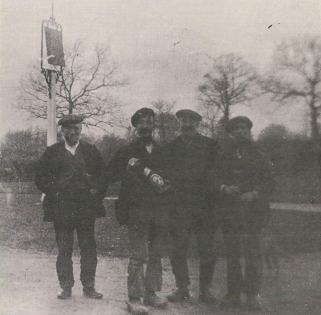 Outside Royal Oak before 1925