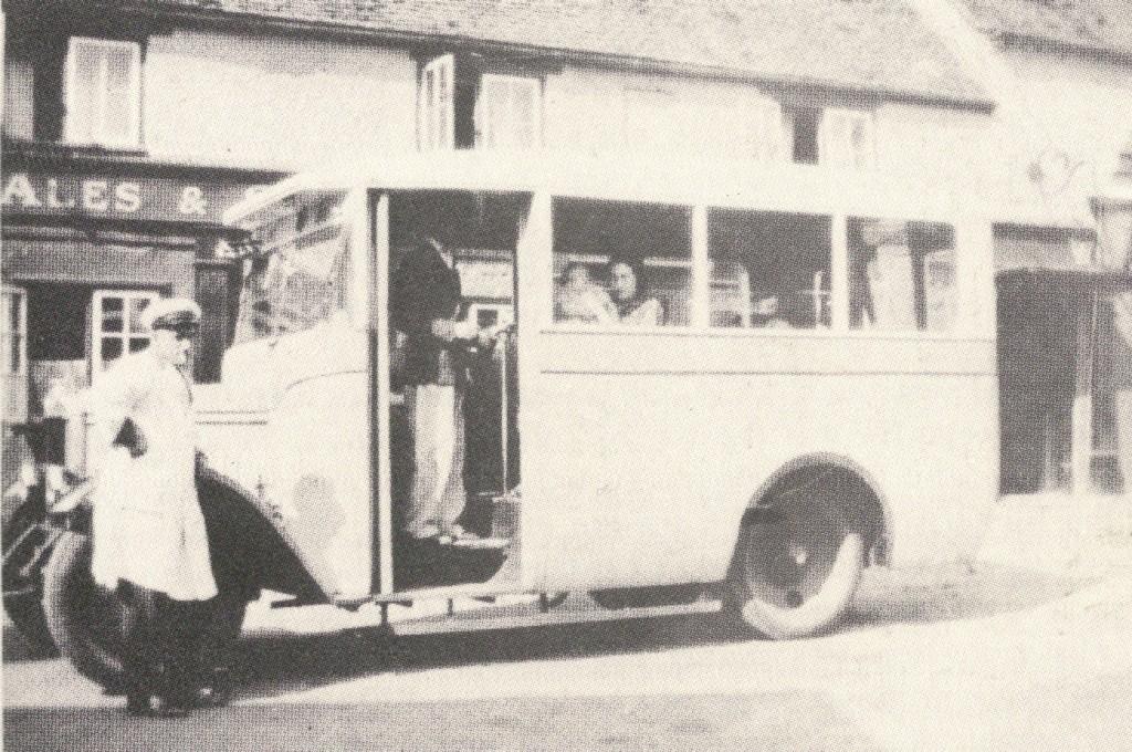 The Blue Bus Mr Denton