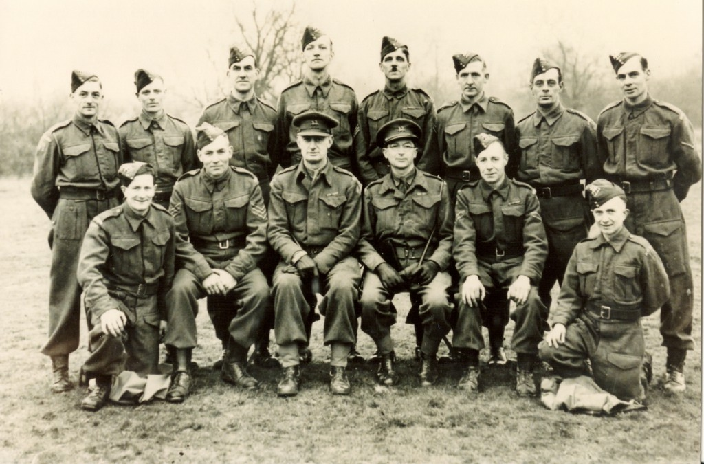 Wood Street Home Guard No 1 Section