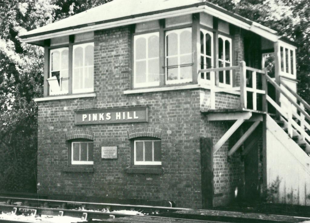 Pinks Hill Signal Box Built 1915