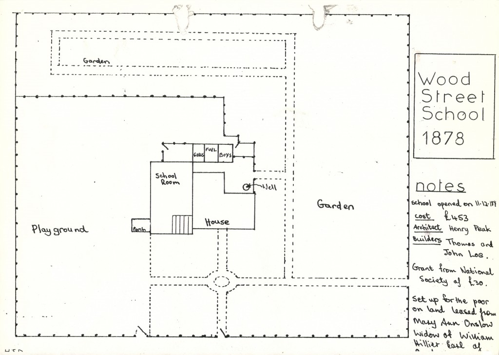 Wood Street School 1873
