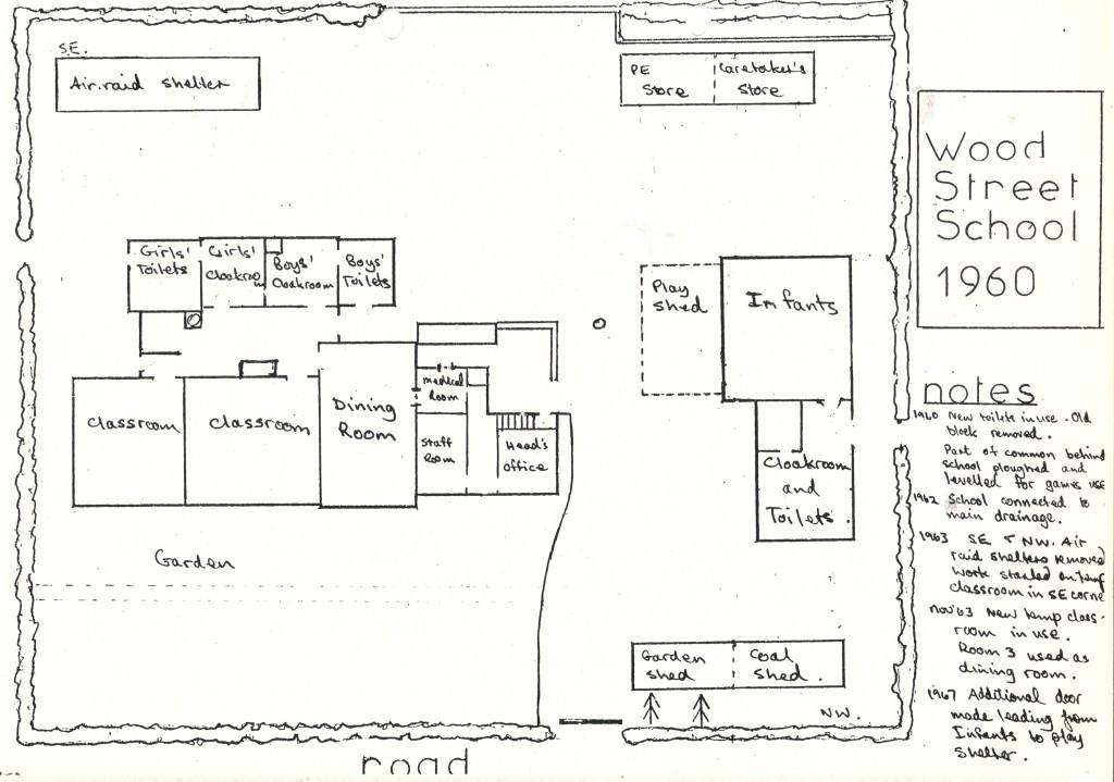 Wood Street School 1960