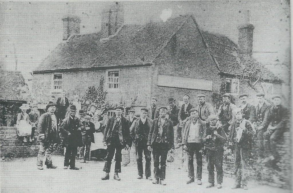 White Hart ~ 1880